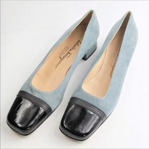 Salvatore Ferragamo Logo Pumps... Shoes 👠